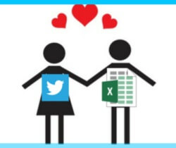 twitter en excel een happy couple