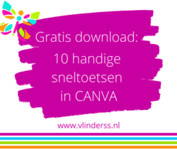 Canva Sneltoets gratis download