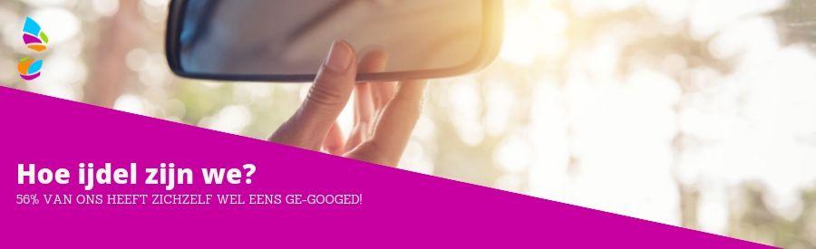 56% van ons heeft zichzelf weleens ge-googled
