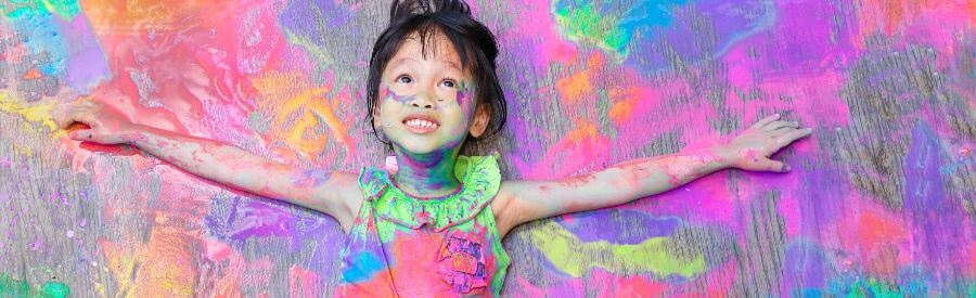 Als kind wordt je creatief geboren